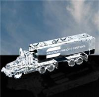 Optical Crystal Truck Paperweight